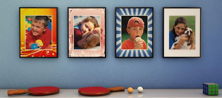 Fotomarcos - Con diseño predefinido