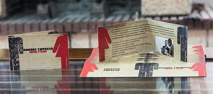 Tarjetas de Visita Doble - Impresión 4 caras