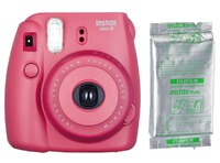 INSTAX MINI 8 SET RASPBERRY (HIMBEERROT)