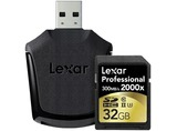 SDHC CARD INCL LECTOR 32GB 2000X PROFESIONAL RDR UHS-II