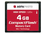 COMPACT FLASH 4GB HIGH SPEED 120X MLC