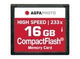COMPACT FLASH 16GB HIGH SPEED 233X MLC