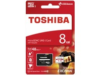 MICROSDHC CLASE 10 8GB EXCERIA R48 UHS I + ADAPTADOR