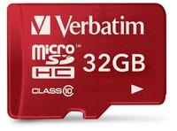 TABLET MICROSDHC 32GB CLASE 10 UHS-I CON ADAPTADOR