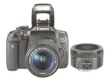 EOS 750D KIT + 18-55 IS STM + 1,8/50 STM
