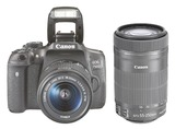 EOS 750D KIT + 18-55 IS STM + 55-250 IS STM