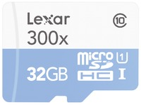 MICROSDHC HIGH SPEED 32GB SIN ADAPTADOR CLASE 10 300X