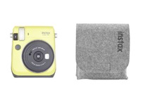 INSTAX MINI 70 AMARILLO + FUNDA DE FIELTRO