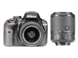 D3300 KIT + AF-P 18-55 VR + 55-200 VR II