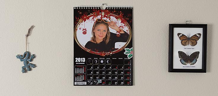 Calendario de Pared - Tamaño 21,4x29,7 cm