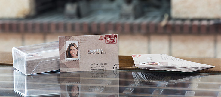 Tarjetas de Visita - Impresión 1 cara