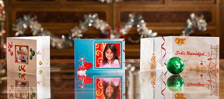 Felicitaciones Navidad - Tamaño 148x102 mm