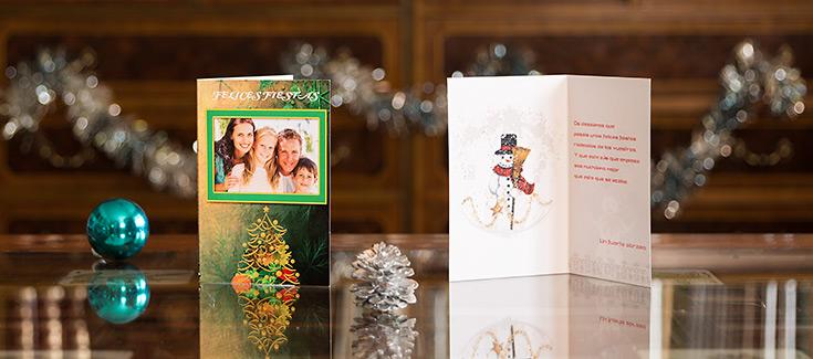 Felicitaciones Navidad - Tamaño 102x148 mm