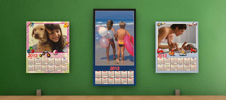 Calendarios - Pared rígido con forex