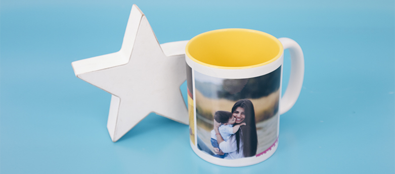 Taza interior amarillo -