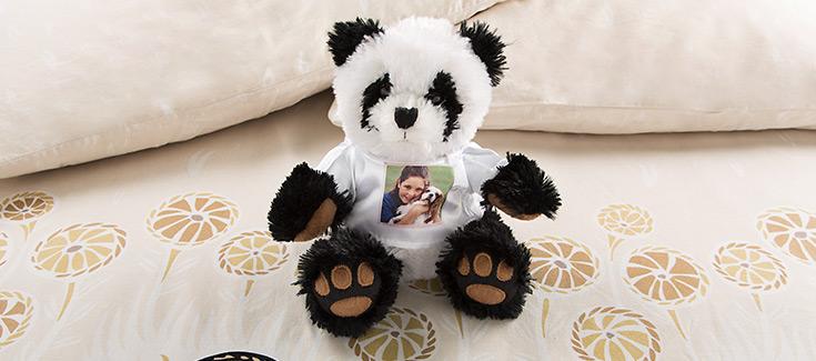 Panda gris -