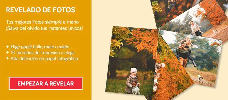 ¡Colecciona momentos mágicos! - Fotos impresas con calidad y a bajo coste.
