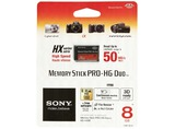 MEMORY STICK PRO HG DUO HX 8GB 50MB/S