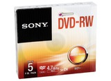 1X5 SONY DVD-RW 4,7GB 1-2X SPEED, CAJA