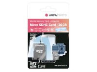 MICROSDHC UHS I 16GB PROF. HIGH SPEED U3 + ADAPTADOR