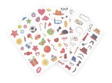 INSTAX FUN STICKER 110-PACK