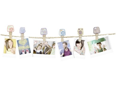 INSTAX DESIGN CLIPS 10-PACK CAMERA