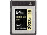 XQD CARD 64GB 2933X PROF INCL XQD 2.0 USB 3.0 LECTOR