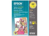 2X 20 EPSON VALUE GLOSSY PAPEL FOTO 10X15CM, 183G S 400044