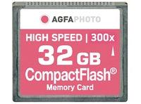 COMPACT FLASH 32GB HIGH SPEED 300X MLC