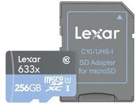 MICROSDXC 633X UHS-I 256GB CON ADAPTADOR