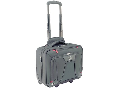 TRANSFER 20CM DEPTH WHEELED BUSINESS CASE NEGRO